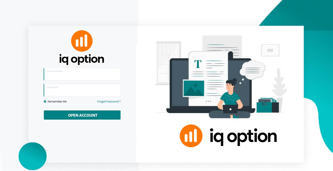 How to Open a Trading Account and Register at IQ Option